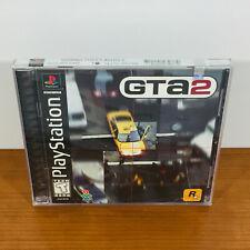 Grand Theft Auto 2 (PS1, PSX) Rare 1st Print! Black Label! Brand New Sealed!
