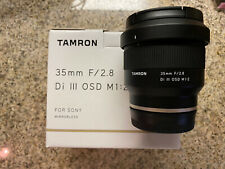Tamron 35mm F2.8 III Osd M1:2 for Sony