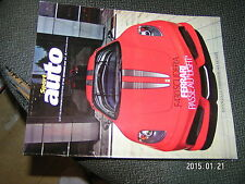 Sport Auto version collector n°548 Ferrari F2007 Loeb SUTIL 30 ans de Williams