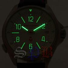 Komandirskie Vostok Armbanduhren mit 12-Stunden-Zifferblatt für Herren