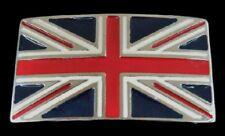 Belt Buckles Boucle de Ceinture British Flag England Uk United Kingdom