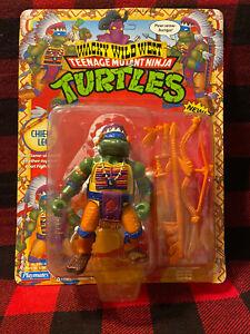 Teenage Mutant Ninja Turtles TMNT Wacky Wild West Chief Leo NIB 1992 New