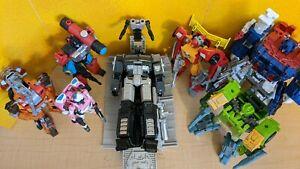 Transformers Titans Returns Perceptor, Springer, Ultra Magnus Dead Optimus Prime