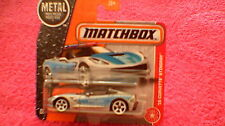 "Matchbox (UK Card) - 2017 - #64 '15 Corvette Stingray - Silver & Blue ""Polizei"""