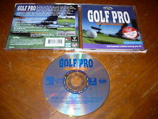 Golf Pro 2000 Downunder PC CD-ROM SoftKey Roadshow 1997 Game for Windows 95/3.1