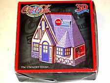 Vintage 1999 Coca-Cola Coke Mrs Murphy's Chowder House 3D 3 Dimensional PUZZLE