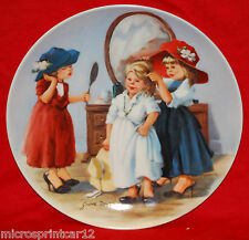 """""""High Society"""""""" 1986 Collectors Plate by Jeanie Downs"""