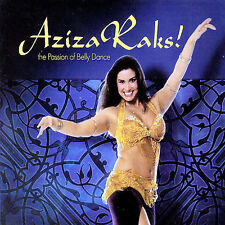 Aziza Raks! - The Passion of Bellydance  Music CD