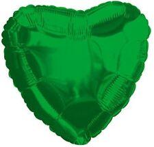 "18"" Emerald Green Heart Shape Balloon Wedding Baby Shower Birthday Decoration"