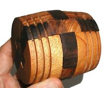 wine Barrel wood brain teaser puzzle sz large wooden