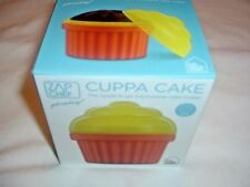 ZAP CHEF Cuppa Cakes, Quick Easy Microwave Cupacake Maker 1 Min micro Cooking
