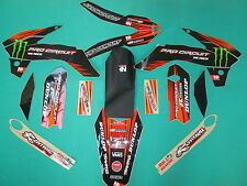 KTM SX85 2013-2015 N-style Pro Circuit Monster full graphic + seat cover DT1385