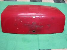 TRIUMPH TR4  TRUNK (BOOT) LID- Needs some work!