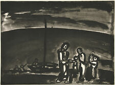 Georges Rouault Reproduction: Sometimes the road is beautiful.. - Fine Art Print