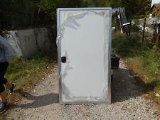 """Trailer Door, 36""""X68"""".  W/Frame, Locks & Keys. No Screen Door, White, #70"""
