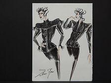 Liliane Romi, Paris, France Women's Fashions One DOUBLE SIDED print