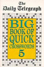 The Daily Telegraph Big Book Quick Crosswords Book 5 BRAND NEW BOOK (P/B 1997)