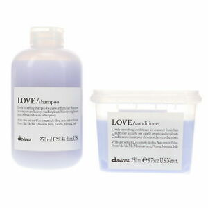 Davines Essential Haircare Love Smoothing Shampoo and Conditioner Duo 250 ml