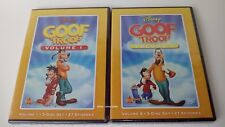 Disney Goof Troop Volumes 1 and 2 Disney DVDs Exclusive Out of Print New