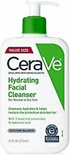 Hydrating Face Wash 16 Ounce Daily Facial Cleanser Dry Skin Fragrance Free