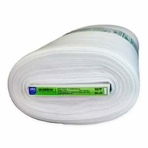 """100/% Natural Cotton Wadding 96/"""" 243cm Wide Fusible Batting Fleece Quilting"""