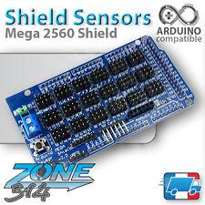 Carte d'extension capteurs pour Arduino MEGA 2560 (Shield Sensor MEGA)