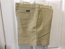 PATAGONIA Khaki Colored Woman's Shorts, Size 14, EUC