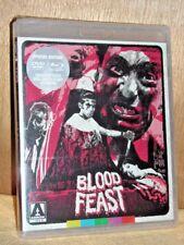 Blood Feast (Blu-ray/DVD, 2017 2-Disc) NE William Kerwin Mal Arnold Connie Mason