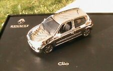 RENAULT CLIO II 2 CHROME NOREV EN COFFRET RARE 1/43 NEW