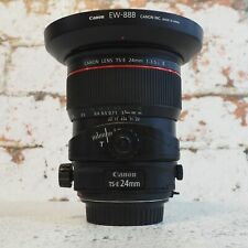Used Canon TS-E 24mm f3.5 L USM Tilt and Shift lens - 1 YEAR GTEE