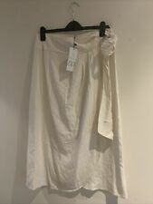 Zara Rustic Skirt With Bow. Size M
