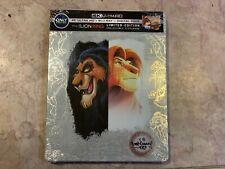 The Lion King Steelbook Includes Digital Copy 4K Ultra HD Blu-Ray Best Buy