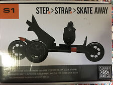 New listing Cardiff Skate Co Model S1 Adult Adjustable Skates Mens 4 to 13 -Womens 5.5 to 14