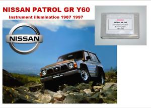 FOR NISSAN PATROL GR Y60 1987 - 1997 Instrument Panel 16 LED KIT - 12V