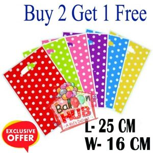 Polka Dot Gift, Plastic Candy, Spot Party Bags Ideal for Wedding, Birthday Party