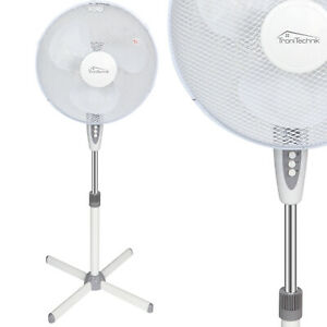 Standventilator Ventilator Lüfter Windmaschine Oszillierend Oszillation 45W