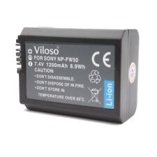 LI-ON CAMERA Battery For Sony A6000 A6300 A7 PROOCAM Viloso NP-FW50