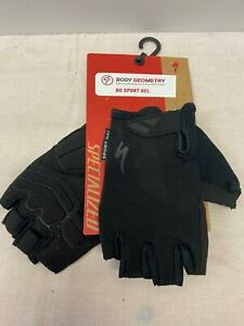 new Specialized Body Geometry BG SPORT Gel mens bicycle GLOVES Large black