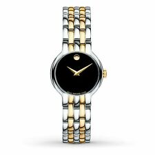 Reloj De Cuarzo Movado 0606933 para mujer veturi Negro