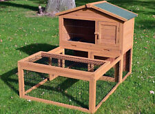 Zooprimus Hasenstall 006 Flocke Kaninchenkäfig Hasenkäfig mit Freilaufgehege !