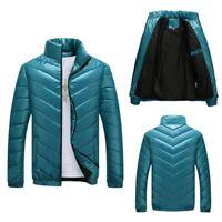 Men's Down Jacket Lightweight Packable Outwear Puffer Winter Warm Coats Tops