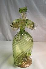"Vintage Murano Venetian 11.5"" Glass Fancy Woman Dancing Figurine Statue LOOK!!"