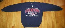 Vintage 2001 New England Patriots AFC Champions Crewneck Sweatshirt Size Medium