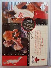 Michael Jordan 96 97 Upper Deck Jordans View Points #VP1 *Rare* Die Cut Insert