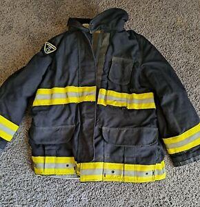 Lion Apparel Firefighter Black Turnout Jacket