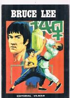 COMIC BRUCE LEE EDITORIAL VILMAR LOS CHACALES DE HONG KONG 1983
