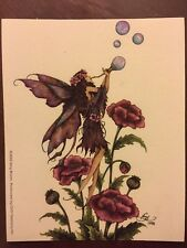 "AMY BROWN FAIRY STICKER-32 4""x5"""