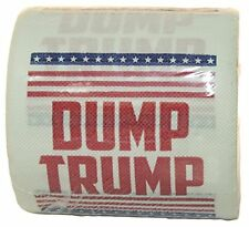 Dump Trump Novelty Toilet Paper, 1 Roll