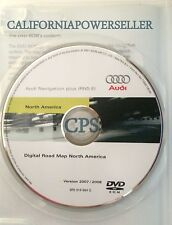 2005 2006 2007 2008 Audi A4 Quattro RNS-E Navigation DVD Disk MAP Update 2009