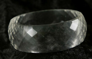 clear plastic bangle 9 inches around cosmetic jewellery